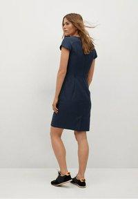 Mango - COFI7-A - Etui-jurk - marineblauw - 2