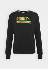 Puma - WORLDHOOD CREW - Sweatshirt - black - 0