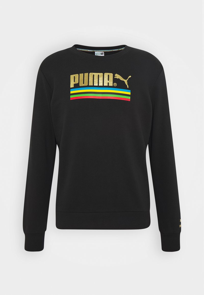 Puma - WORLDHOOD CREW - Sweatshirt - black