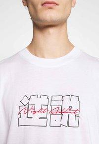 Night Addict - NAFEAR - Print T-shirt - white - 5