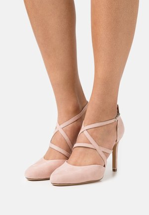 Klassiske pumps - rose