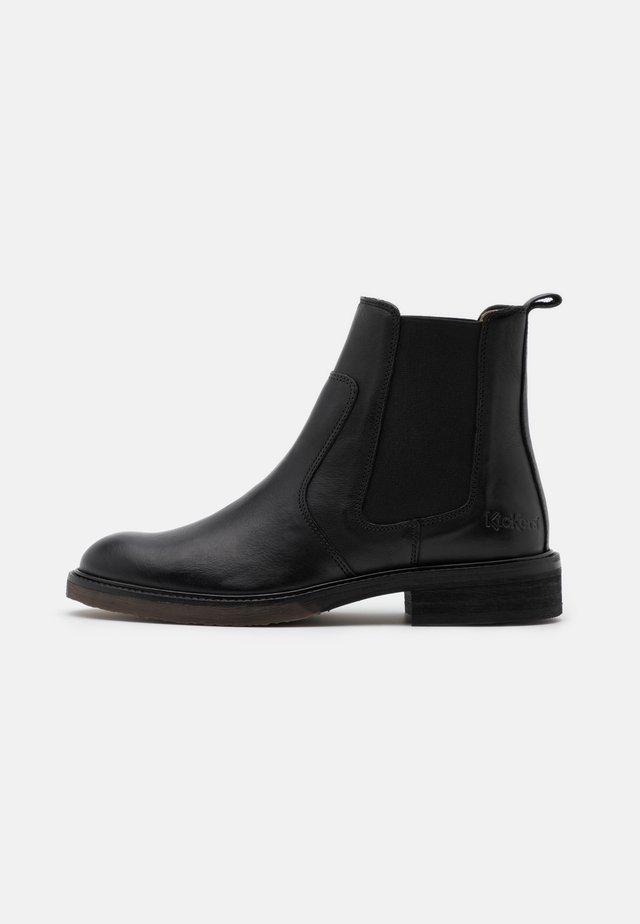 ALPHASEA - Kotníkové boty - black