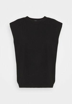 MANDY MUSCLE TEE - Print T-shirt - black
