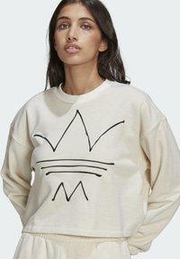 adidas Originals - Sweatshirt - off white mel - 3