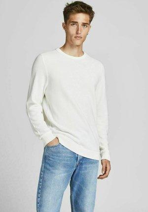 JJEAARON  - Jersey de punto -  white