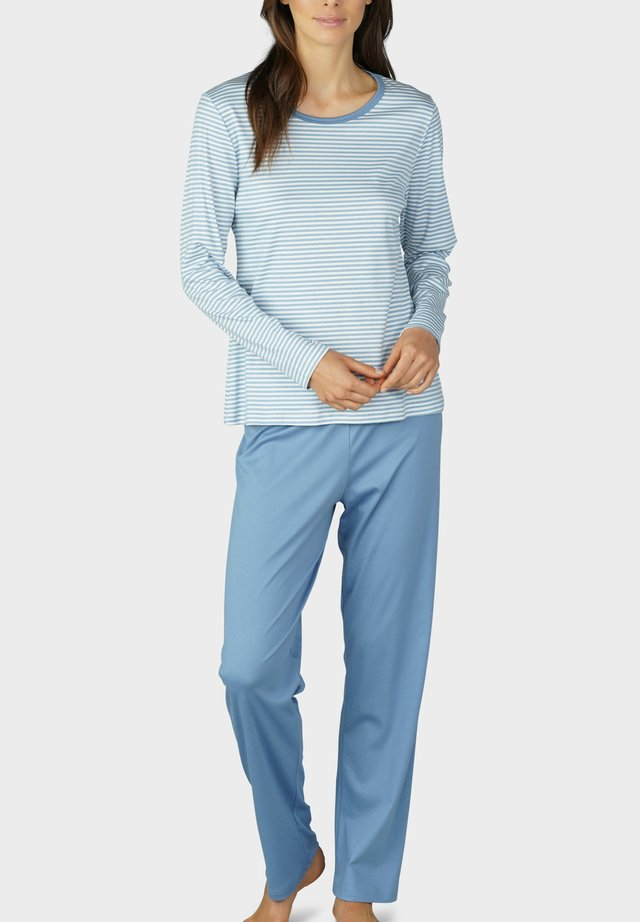 Pyjama set - faded blue