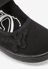 Next - Ankle strap ballet pumps - black - 2