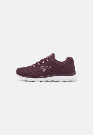 Trainers - shiraz/frost pink