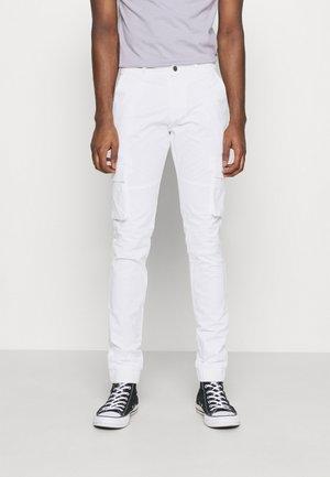 PANT - Cargobroek - white