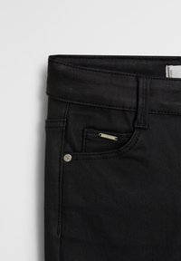 Mango - COATED - Jeans Skinny Fit - black denim - 2