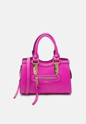 MEELA - Handbag - fuschia/gold