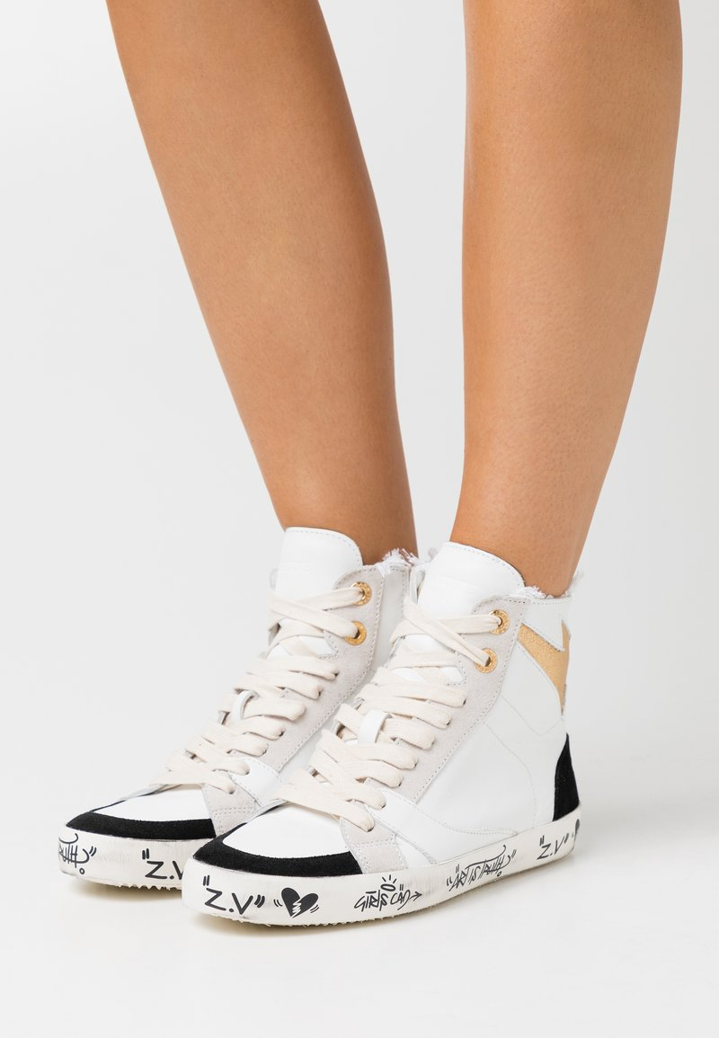Zadig & Voltaire - USED - Vysoké tenisky - blanco
