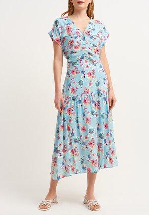 A-line skirt - cloud comb