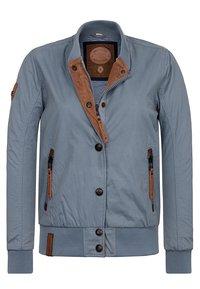 Naketano - Summer jacket - blue-grey - 2