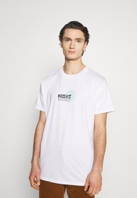 Night Addict - NAMIDNIGHT - T-shirt med print - white - 2