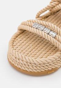 KARL LAGERFELD - RAPALLA  - Platform sandals - beige - 6