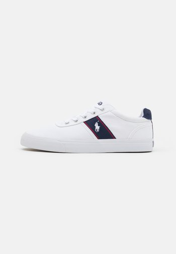 HANFORD TOP LACE - Trainers - white/navy