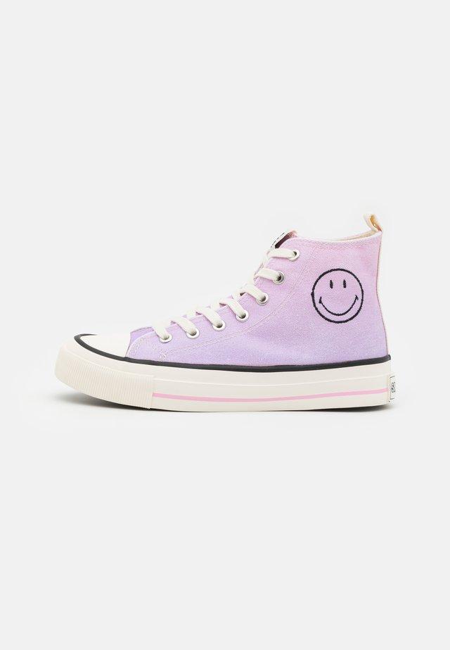 VEGAN BRITT RETRO  - Sneakers hoog - pink/ombre