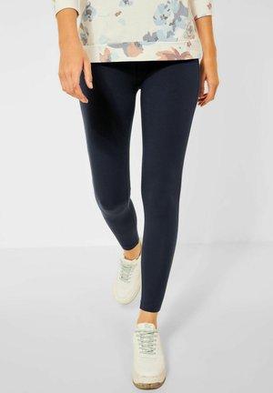 UNIFARBE - Leggings - Trousers - blau