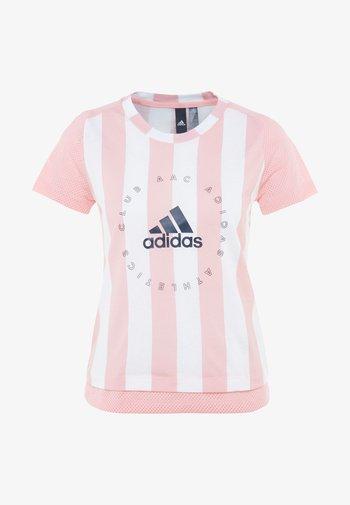 TEE - Print T-shirt - pink