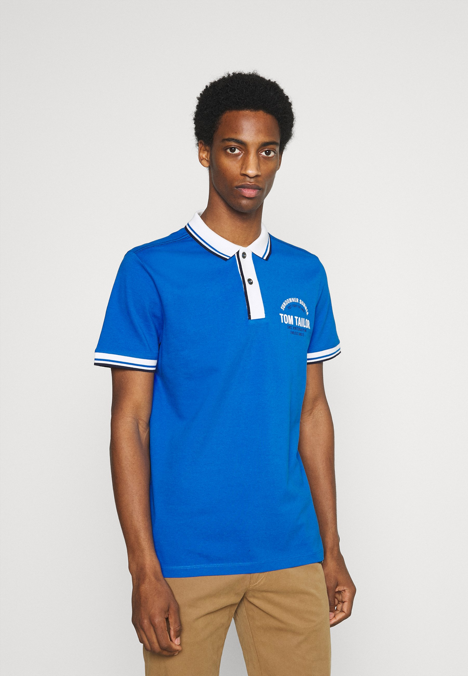 Men DECORATED - Polo shirt