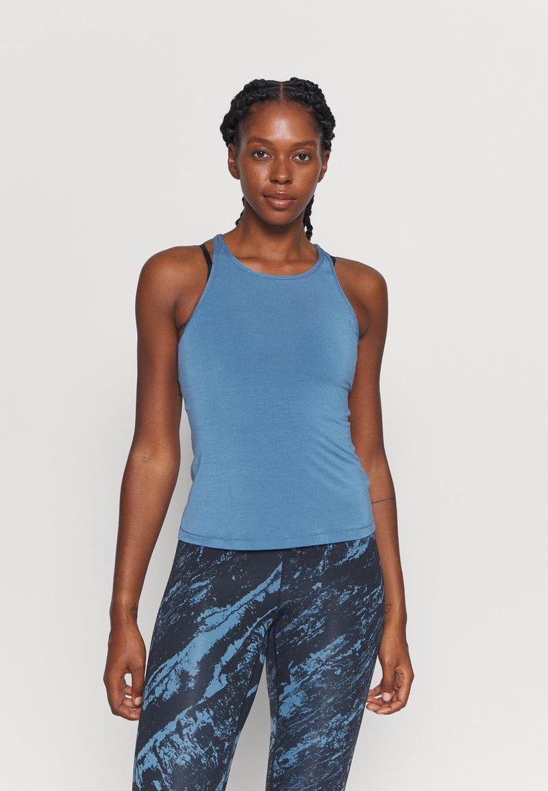 Casall - ATTITUDE STRAP TANK - Top - inclusive blue
