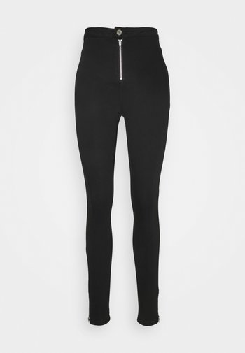 VICE HIGHWAISTED SKINNY WITHANKLE ZIP