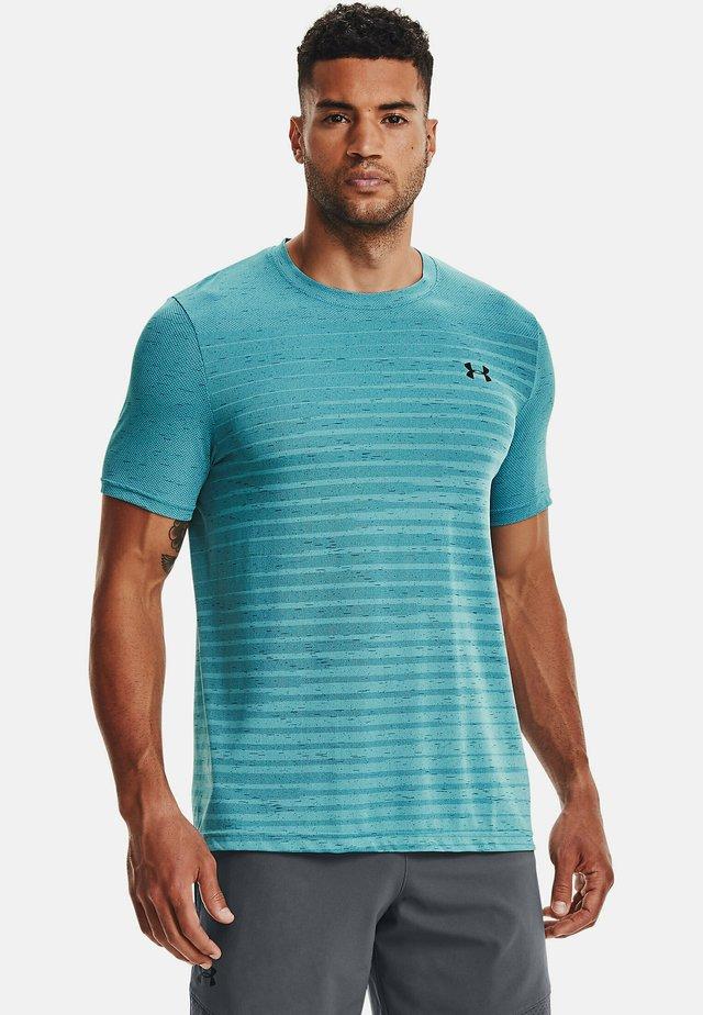 SEAMLESS FADE - T-shirt print - turquoise