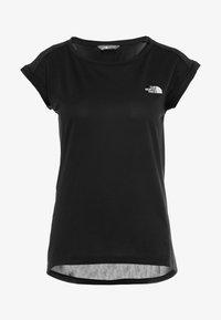 The North Face - TANKEN TANK  - Basic T-shirt - black - 4