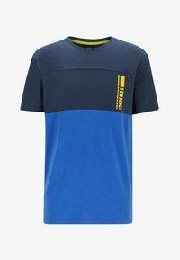 BOSS - TEE  - Print T-shirt - dark blue - 3