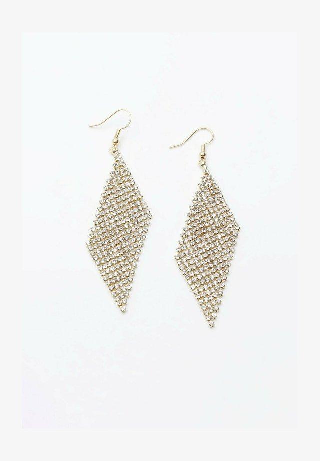 LONG BLING  - Earrings - gold