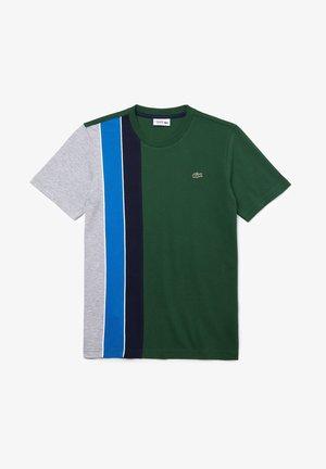 RAINBOW - Print T-shirt - vert / gris chine / bleu / bleu marine / blanc