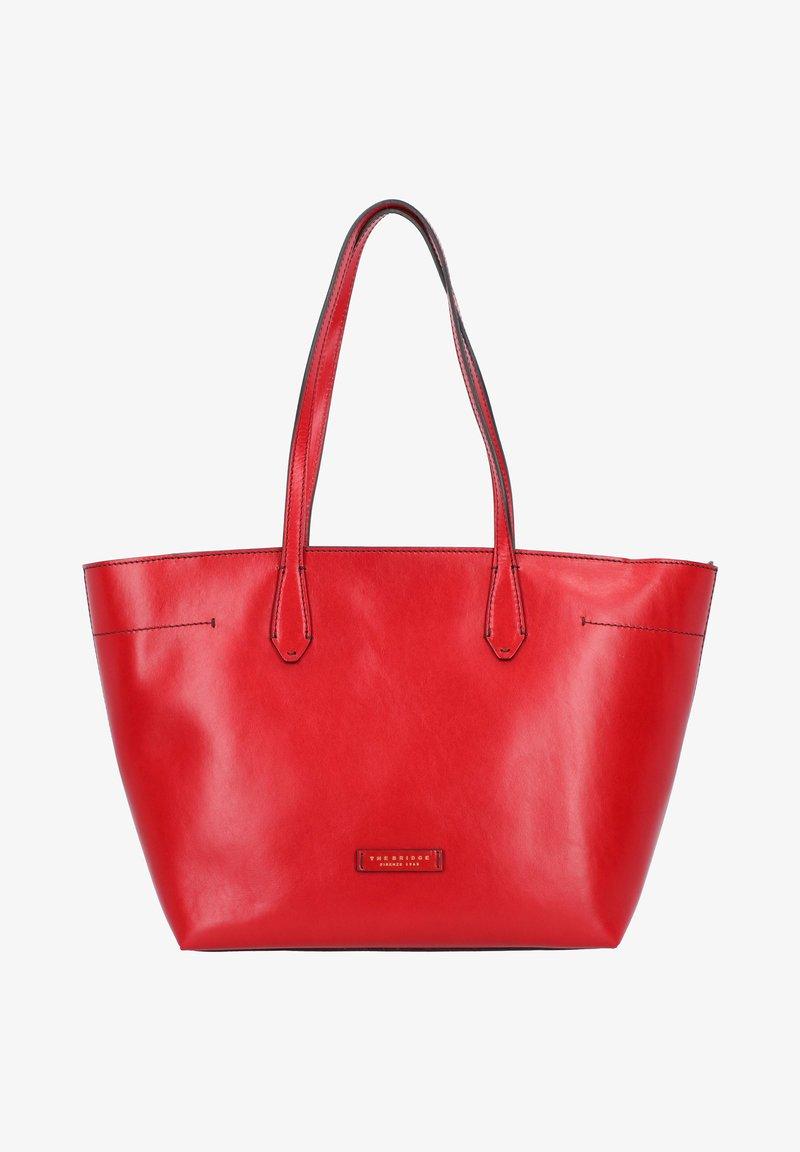 The Bridge - GUELFA - Tote bag - red
