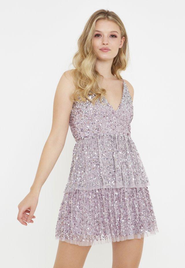 Sukienka koktajlowa - lilac
