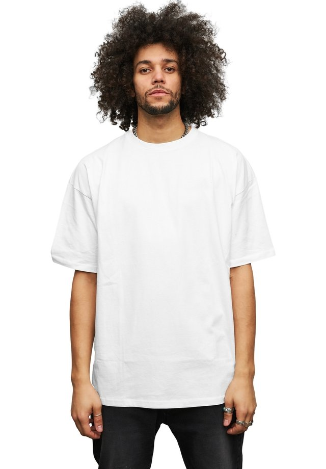 OVERSIZE - T-shirt basic - weiß
