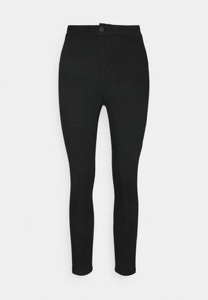 NMELLA SUPER - Jeans Skinny Fit - black