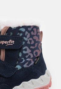 Superfit - ICEBIRD - Snowboots  - blau/rosa - 5