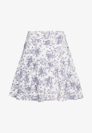 TWO TO TANGO SKIRT - Áčková sukně - white/blue