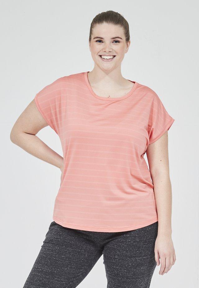 FUNKTIONSSHIRT MINSTA ACTIV - Print T-shirt - 4144 shell pink