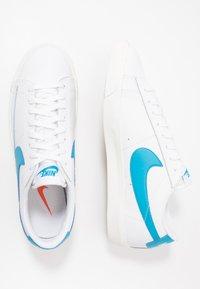 Nike Sportswear - BLAZER - Trainers - white/laser blue/sail - 3