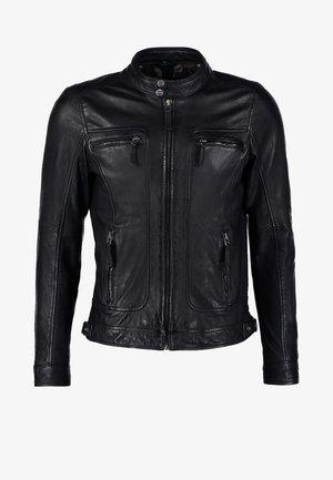 CASEY  - Veste en cuir - black