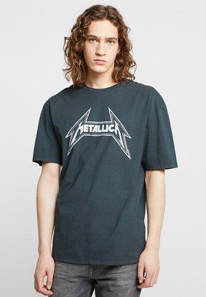 METALLICA - T-shirt z nadrukiem - anthracite