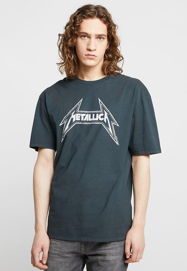 Revival Tee METALLICA - T-shirt z nadrukiem - anthracite/czarny Odzież Męska BQGF