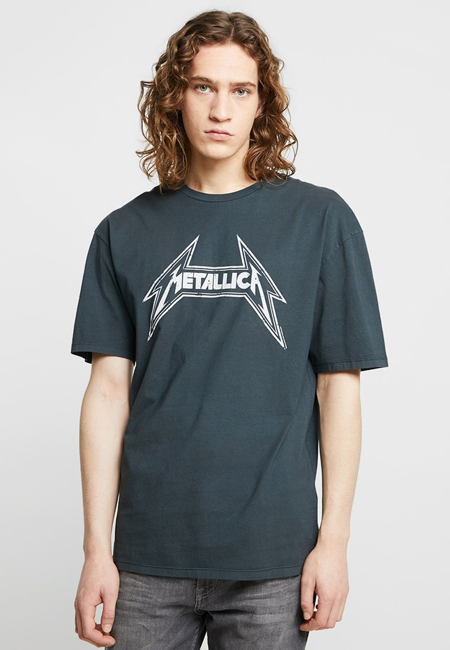 METALLICA - T-shirt med print - anthracite