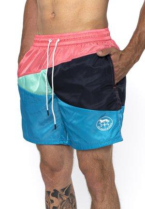 BOXER MARE IN TESSUTO TECNICO COLOR BLOCK - Swimming shorts - turchese