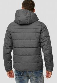 INDICODE JEANS - PHILPOT - Winter jacket - dark grey - 2