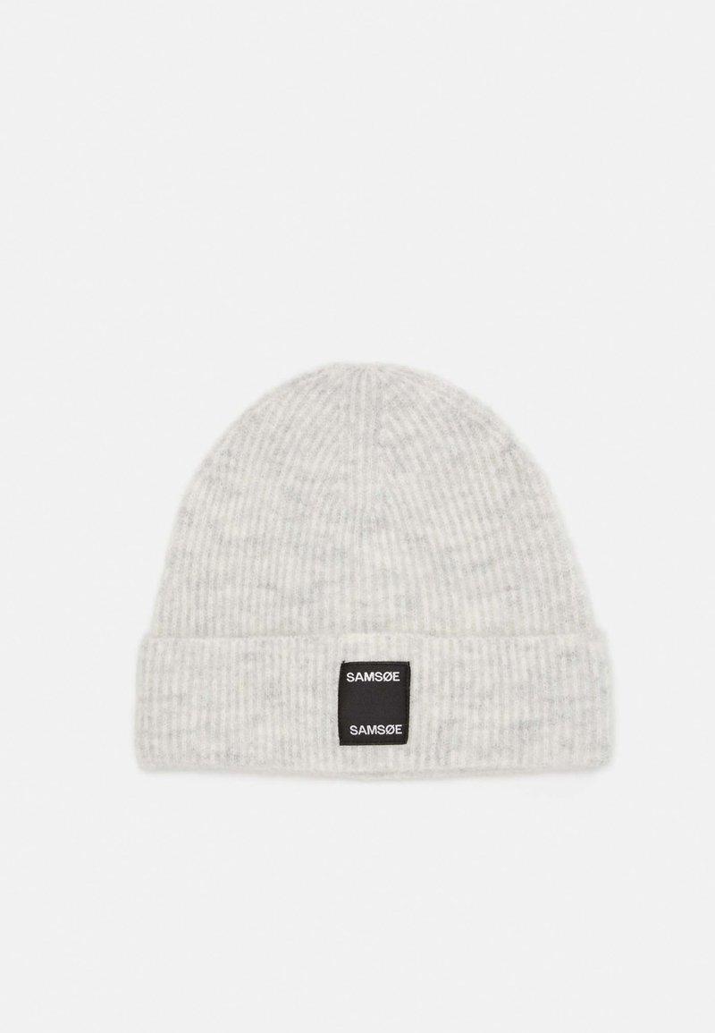 Samsøe Samsøe - BERNICE HAT - Lue - white melange