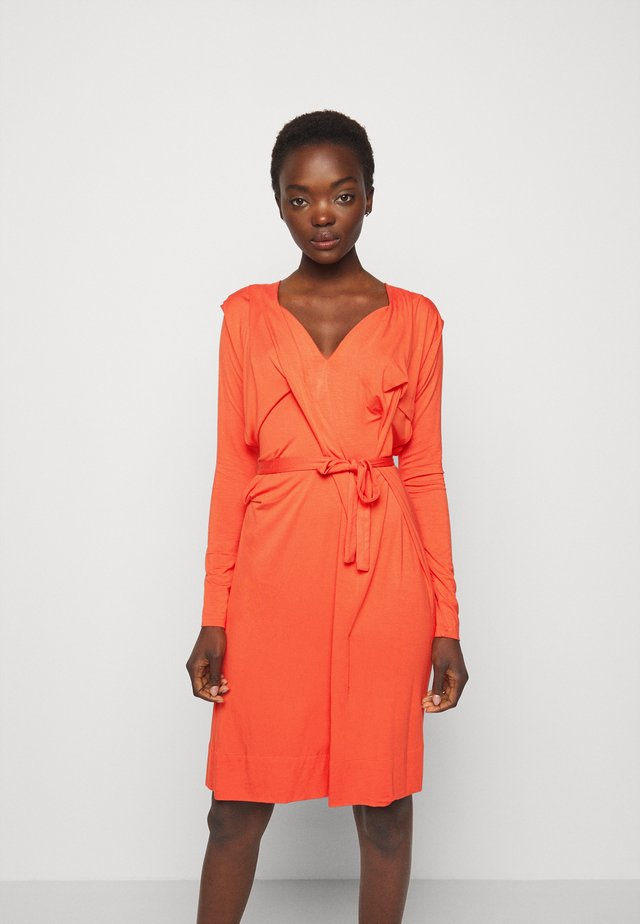 PANEGA DRESS - Jersey dress - orange