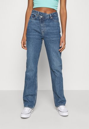 SKEW - Jeans a zampa - sea blue