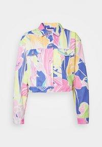Jaded London - CROPPED JACKET - Denim jacket - multi-coloured - 0